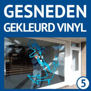 gekleurd vinyl